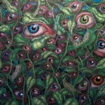 Observation (Oil Crayon)