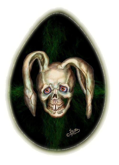 Bony Bunny (Digital Painting)