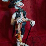Sir Bunny The Chicken Killer (Air-Drying Modelling Clay)