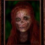 The Portrait Of Doria Gray (Digital Art)