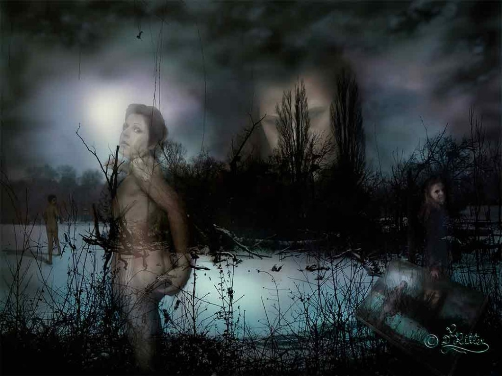 My Soul Is Wondering Restless Around ( Digital Art)