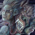 The Metamorphosis (Mixed Media)