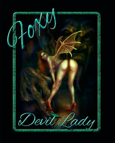 Foxy Devil Lady_Poster