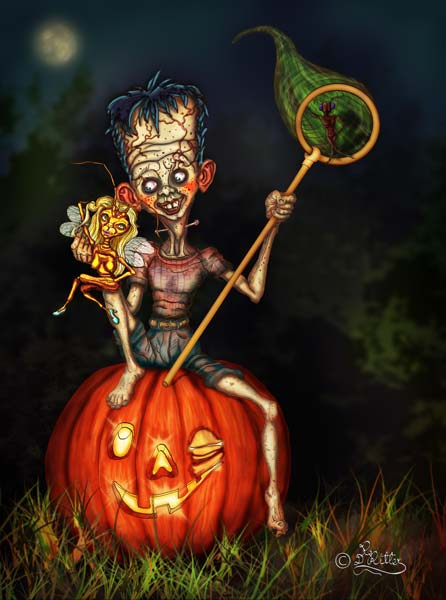 Frankenstein-Junior (Digital Painting)