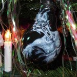 Gothic-Christmas Bulb ( Light Bulb, Acrylic Color)