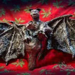 Gargoyle:Gothic Christmas Tree-Topper (Skulptur_25cm-Height)