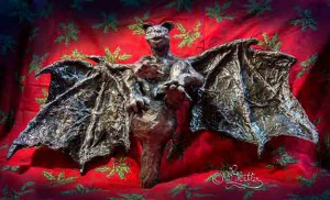 Gargoyle:Gothic Christmas Tree-Topper (Skulptur_25cm-Height)