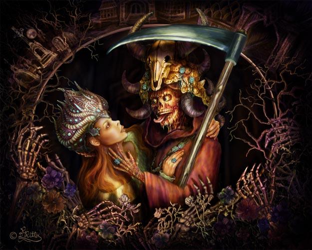 Grim Reaper In Love