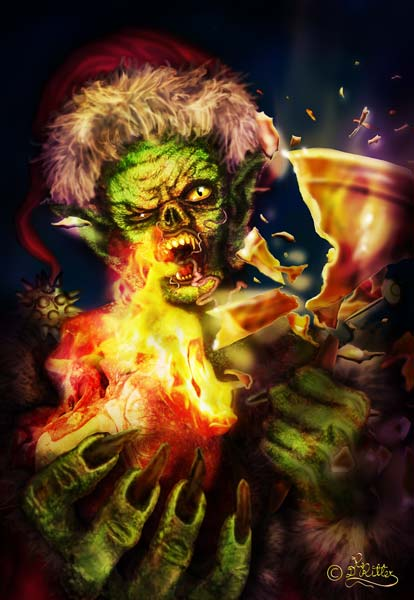 Grinch (Digital Painting)