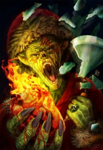 Grinch Is Burning The Heart Of Christmas