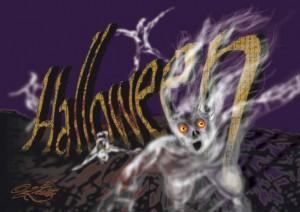 Halloween-Ghosts (Vector Graphic)