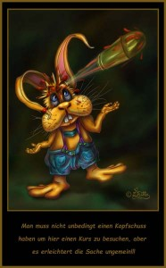 Headshot Rabbit (Digital Painting)