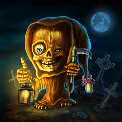 Little Friendly Grim Reaper