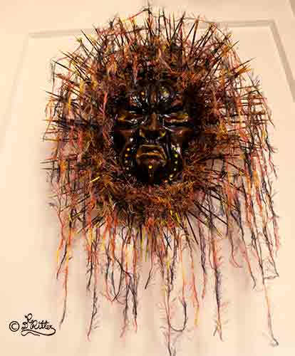 Medicine Man-Mask (Mixed Media)