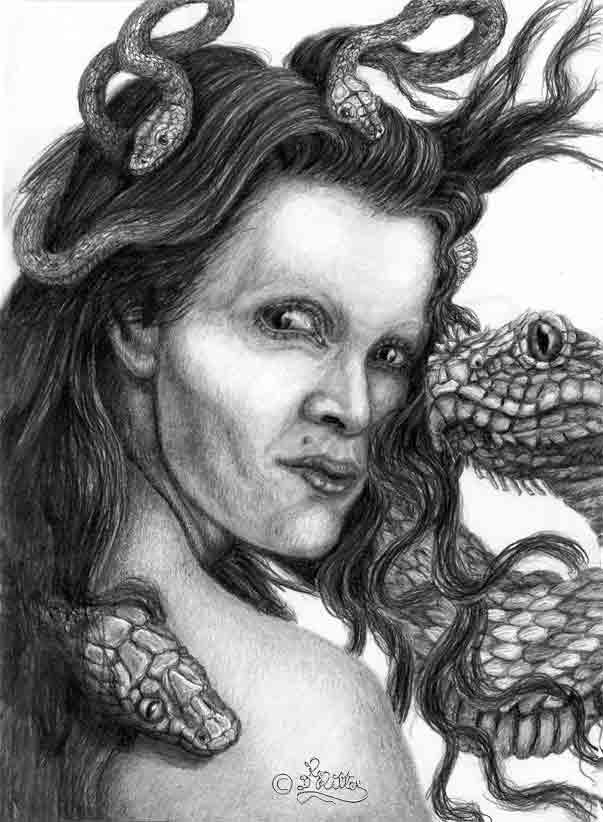 Medusa (Pencil)