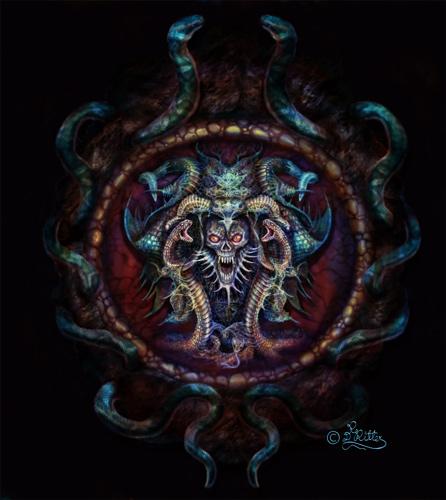 Snake-Skull