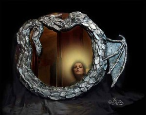 Mirror Frame (Mixed Media)