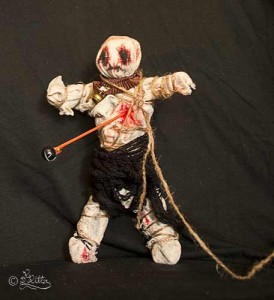 Voodoo Doll (Mixed Media)