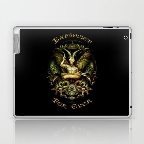 baphomet-laptop-skins