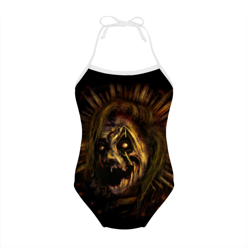 gothic swimsuit