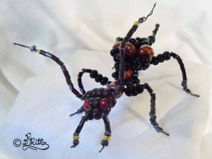 Insect Made of Pearls